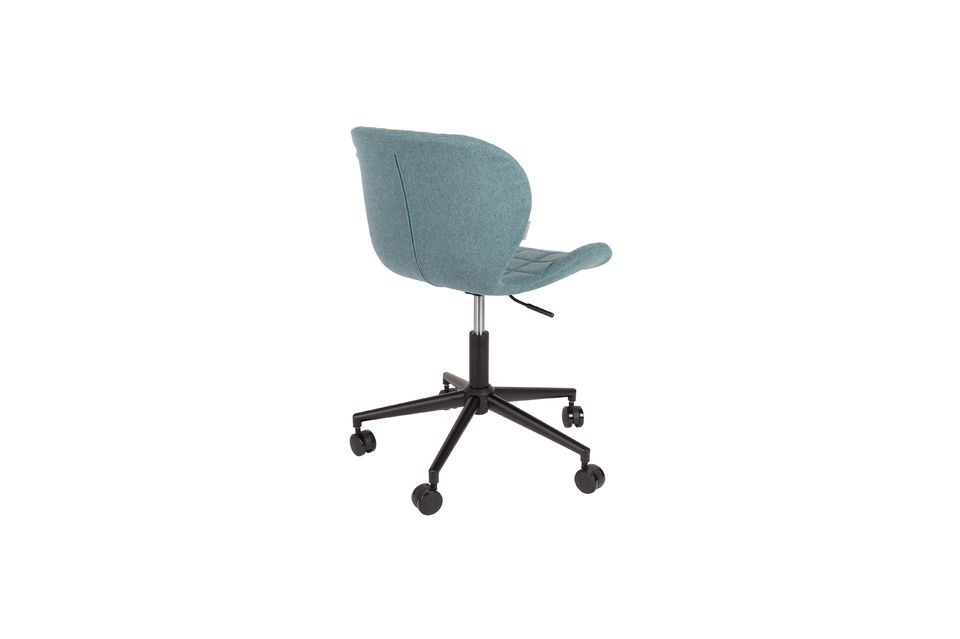 OMG Office chair black and blue - 7