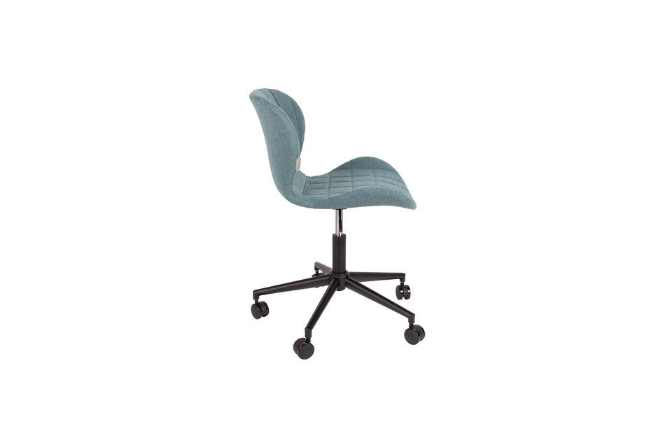 OMG Office chair black and blue - 8