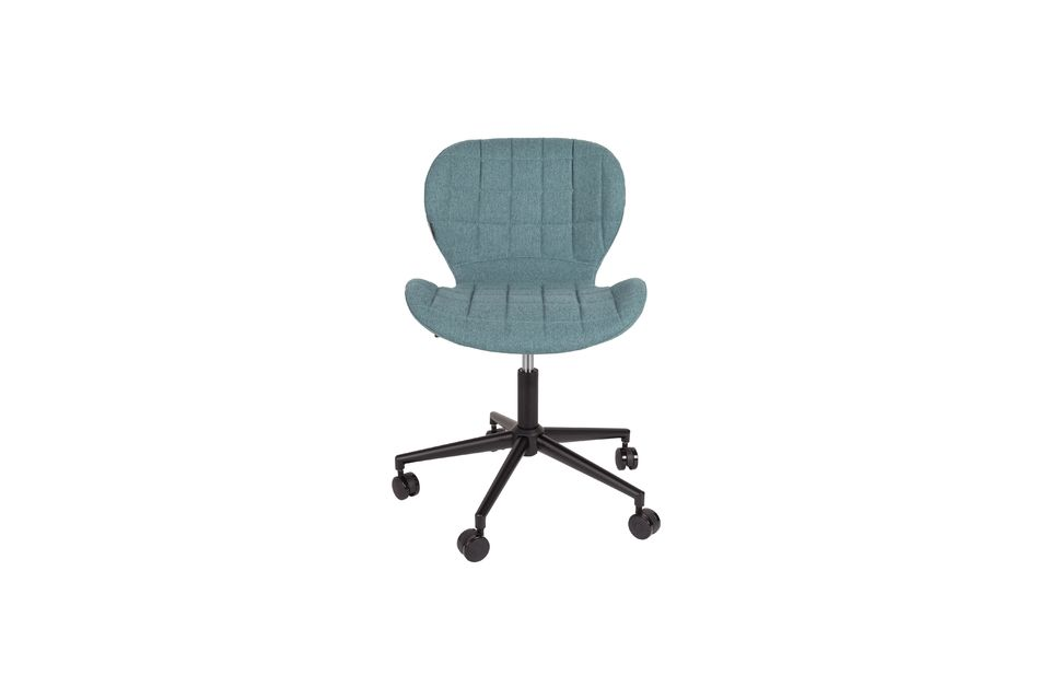 OMG Office chair black and blue - 9