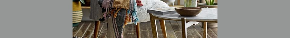 Material Details Osches Cotton Throw