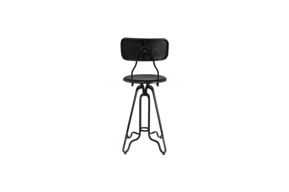 Ovid black Bar stool - 5