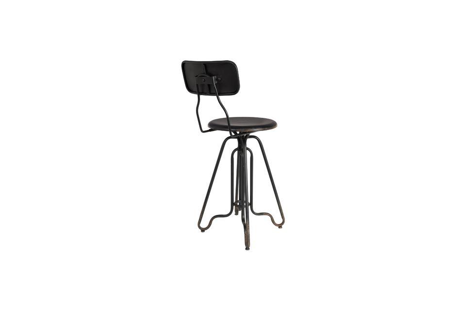 Ovid black Bar stool - 6
