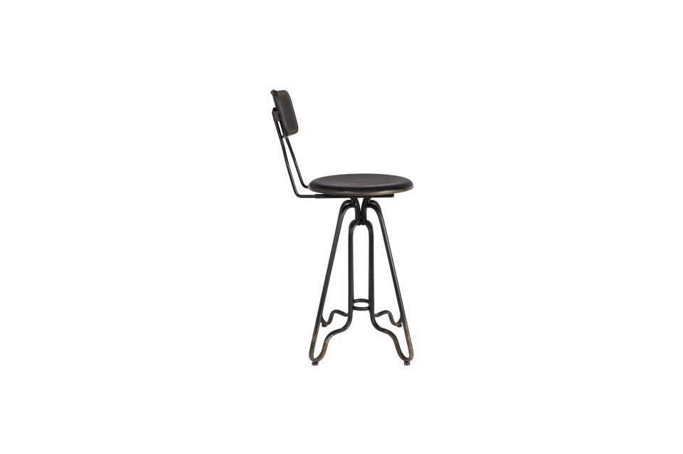 Ovid black Bar stool - 7