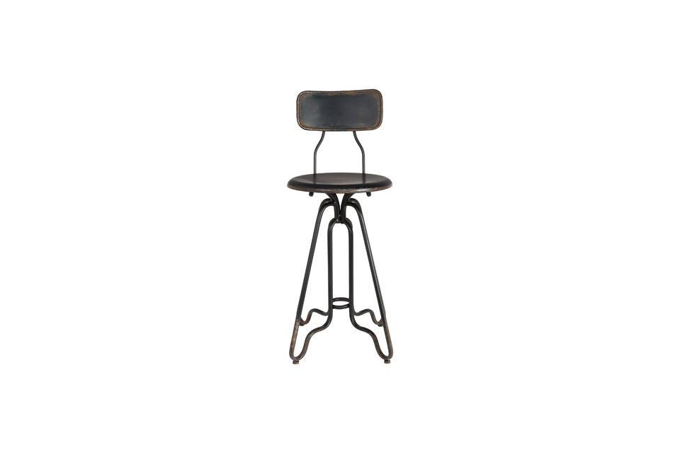 Ovid black Bar stool - 8