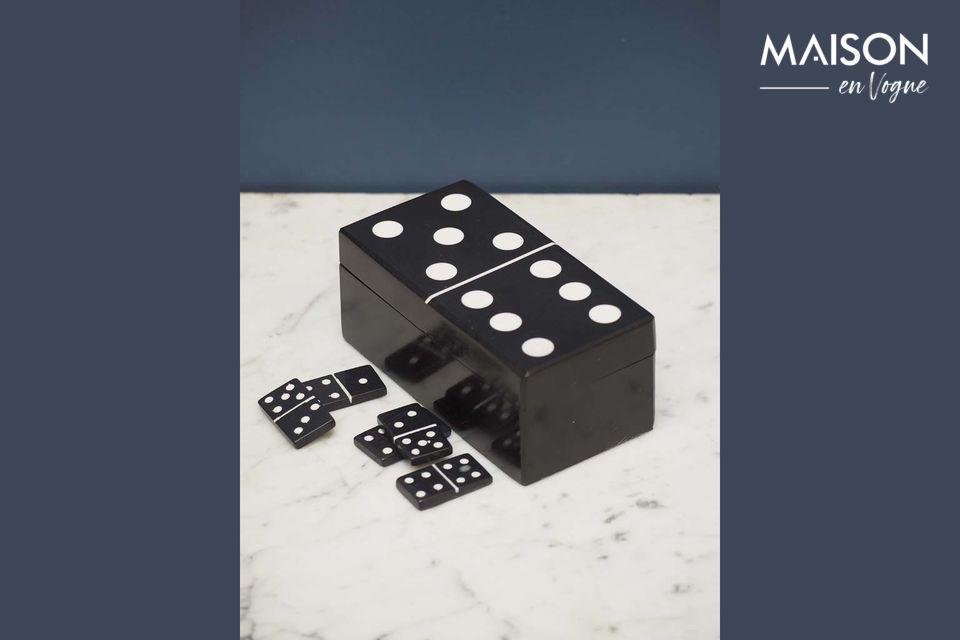 Payns Black Dominoes Box Chehoma