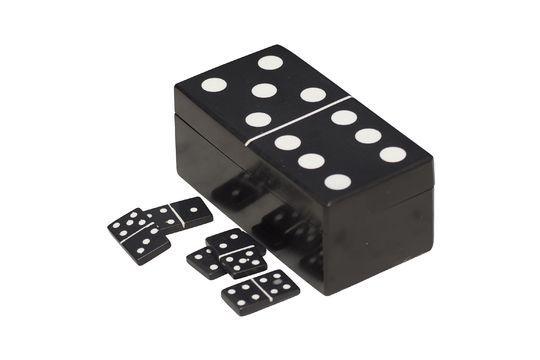 Payns Black Dominoes Box