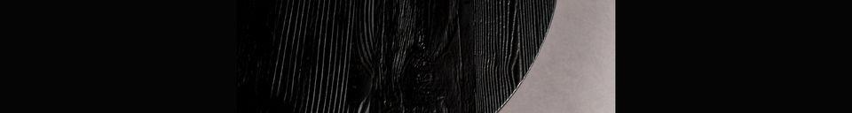 Material Details Pepper black Side table 45 centimeters