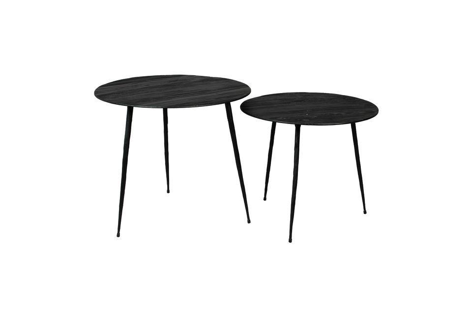 Pepper black Side table 45 centimeters - 5
