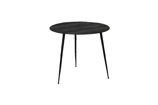 Pepper black Side table 45 centimeters Clipped