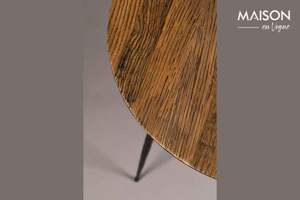 Pepper brown Side table 45 centimeters - 5