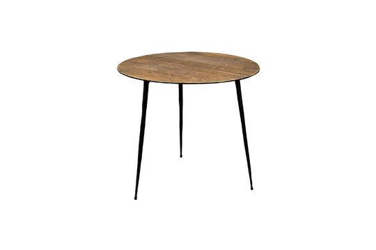 Pepper brown Side table 45 centimeters Clipped