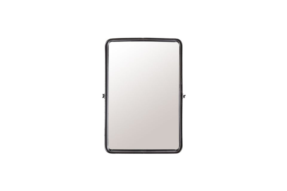 We have chosen the slightly recessed mirror to give it a more interesting design