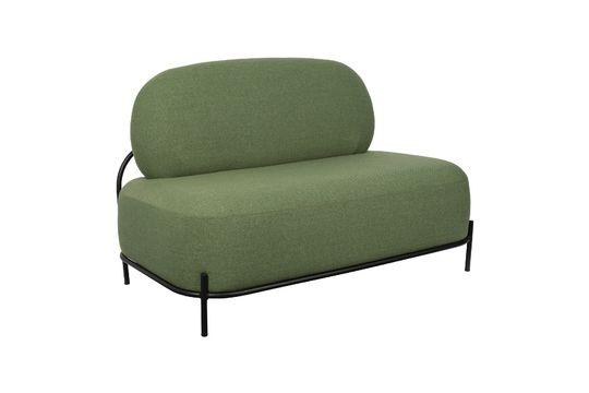 Polly Green sofa Clipped