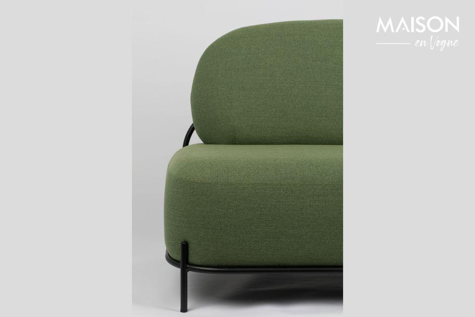 An elegant and comfortable straight sofa