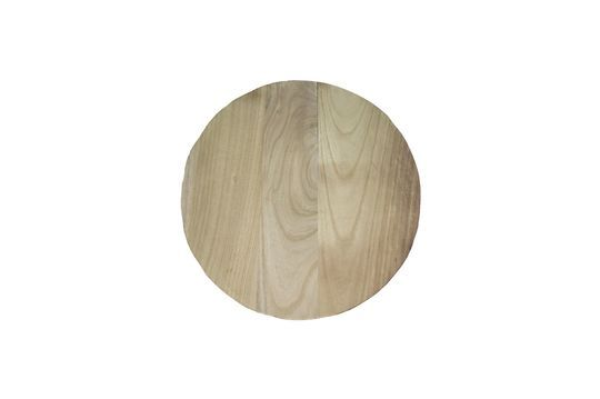 Pure wooden plate Clipped