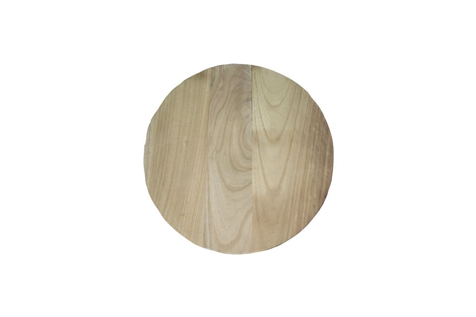Pure wooden plate