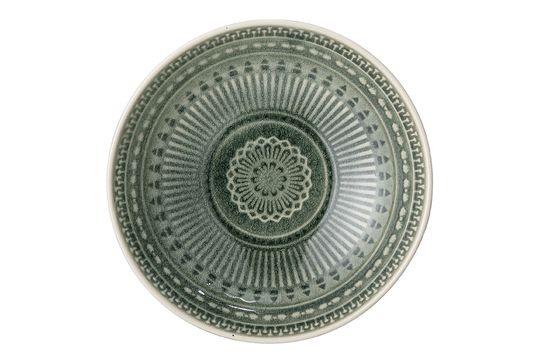 Rani Green bowl in stoneware Clipped