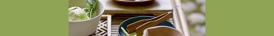 Material Details Rani stoneware plate