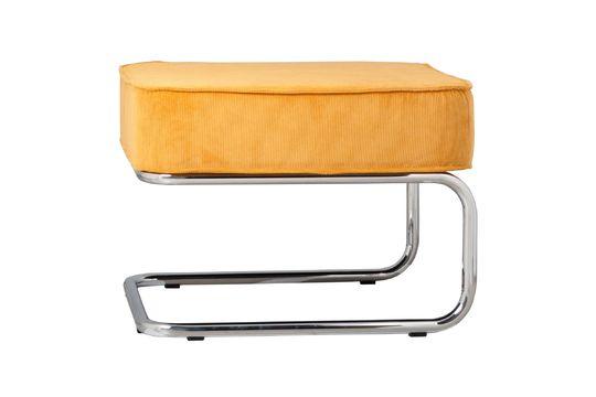 Ridge Rib Yellow Pouf