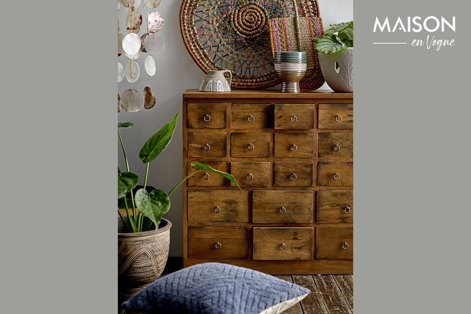 The charm of a piece of furniture for a Boho atmosphere