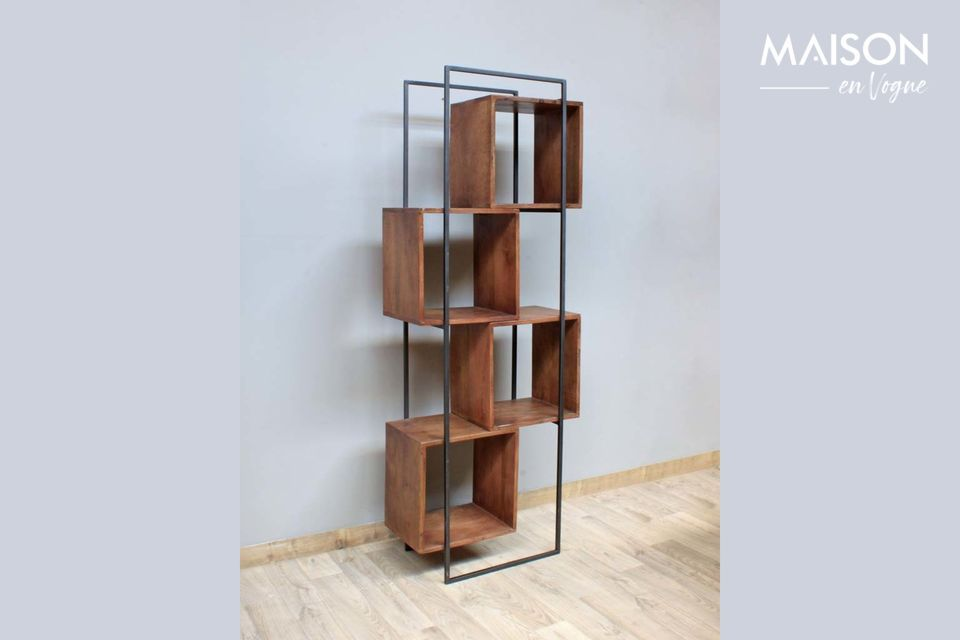 The Rubik shelves from Chehoma proposes you to bet on the authenticity of timeless shapes