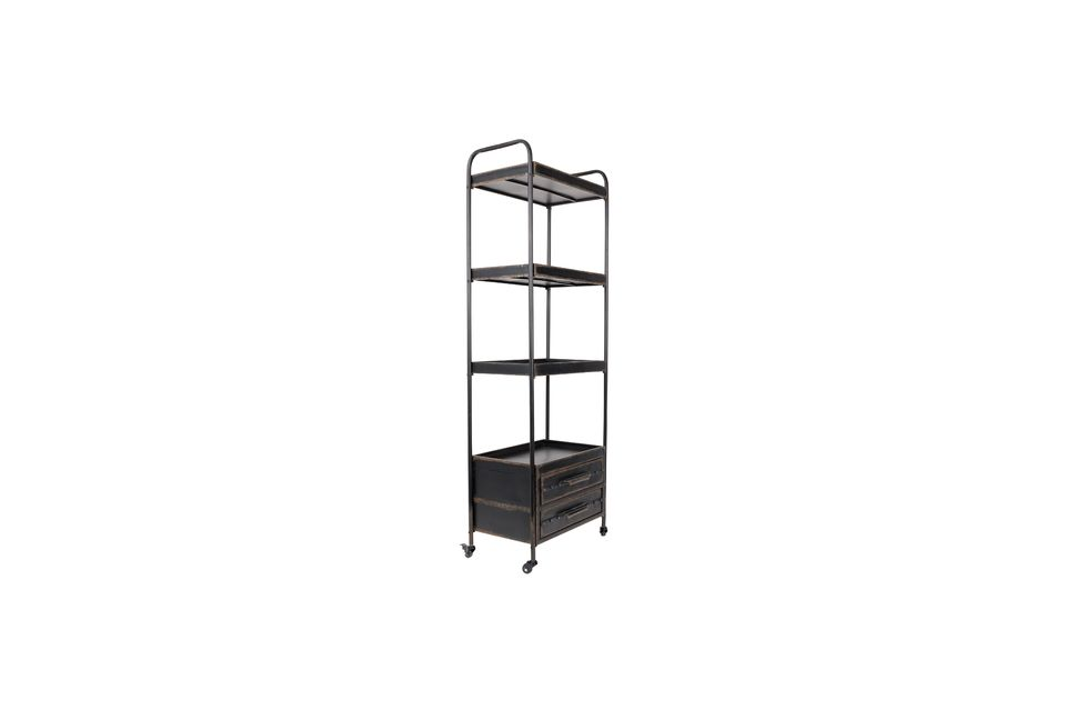 In addition, it offers three large storage trays and two long drawers