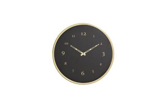 Saisy Metal Wall Clock Clipped