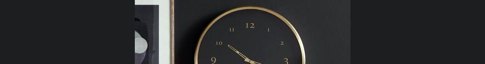 Material Details Saisy Metal Wall Clock