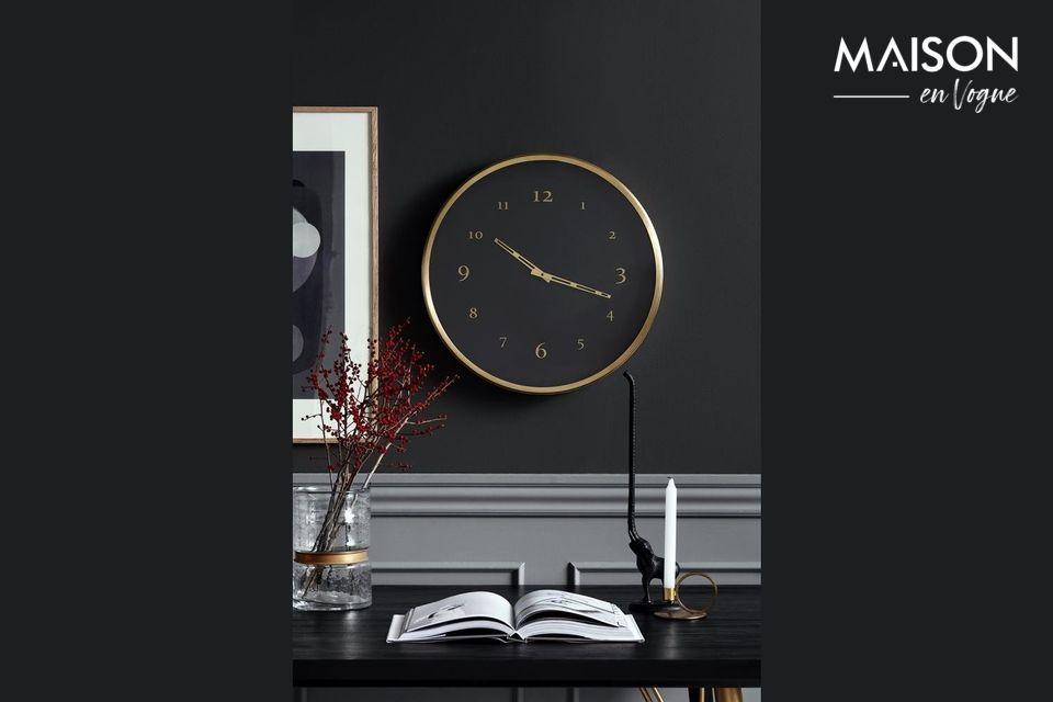 Saisy Metal Wall Clock Nordal