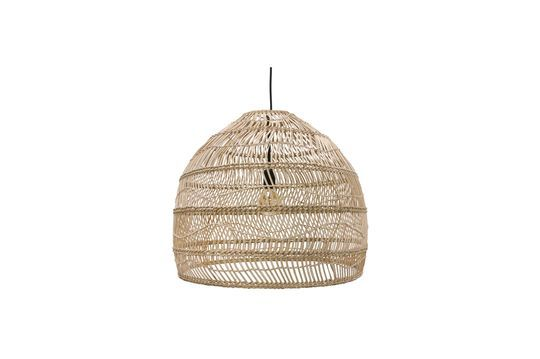 Sancy natural wicker hanging lamp size M Clipped