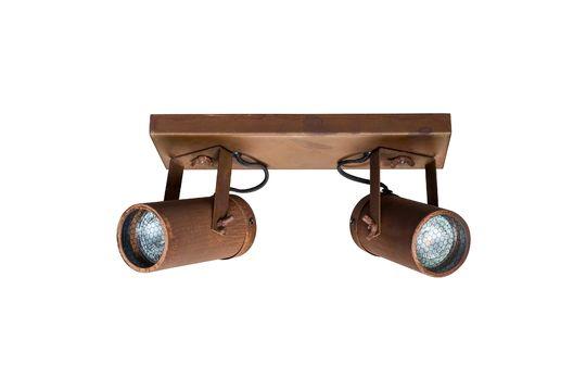 Scope Double light spot rust finish