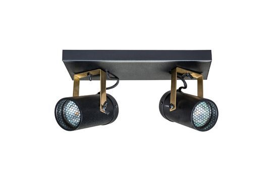 Scope Double light spot with black finish