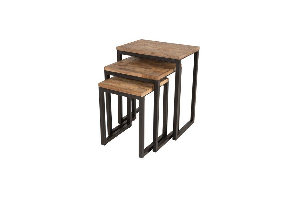 Set of 3 Suri side tables - 5