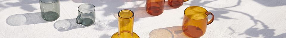 Material Details Set of 4 glass Lasi cups