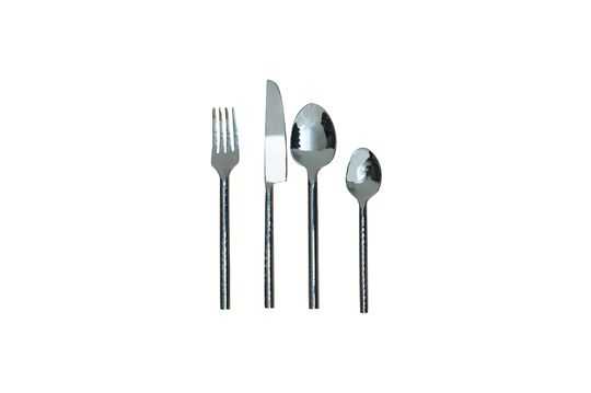 Set of 4 Istanbul hammered cutlery