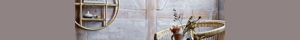 Material Details Sia cane shelf