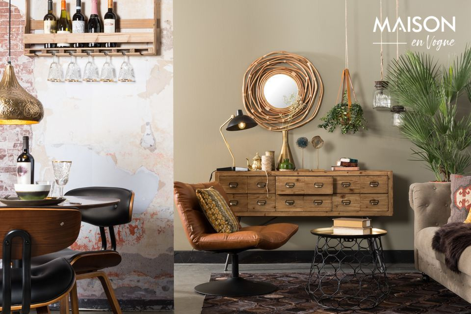 12 drawers in appearance only! Because with the dimensions of the sideboard: 40cm by 150cm and 84cm