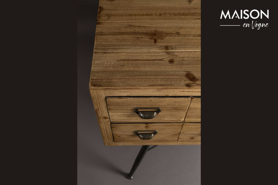 Sideboard Six with wooden drawers - 7