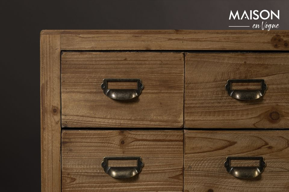 Sideboard Six with wooden drawers - 9