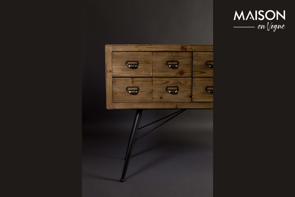 Sideboard Six with wooden drawers - 10
