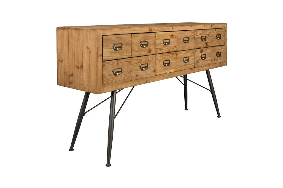Sideboard Six with wooden drawers - 11