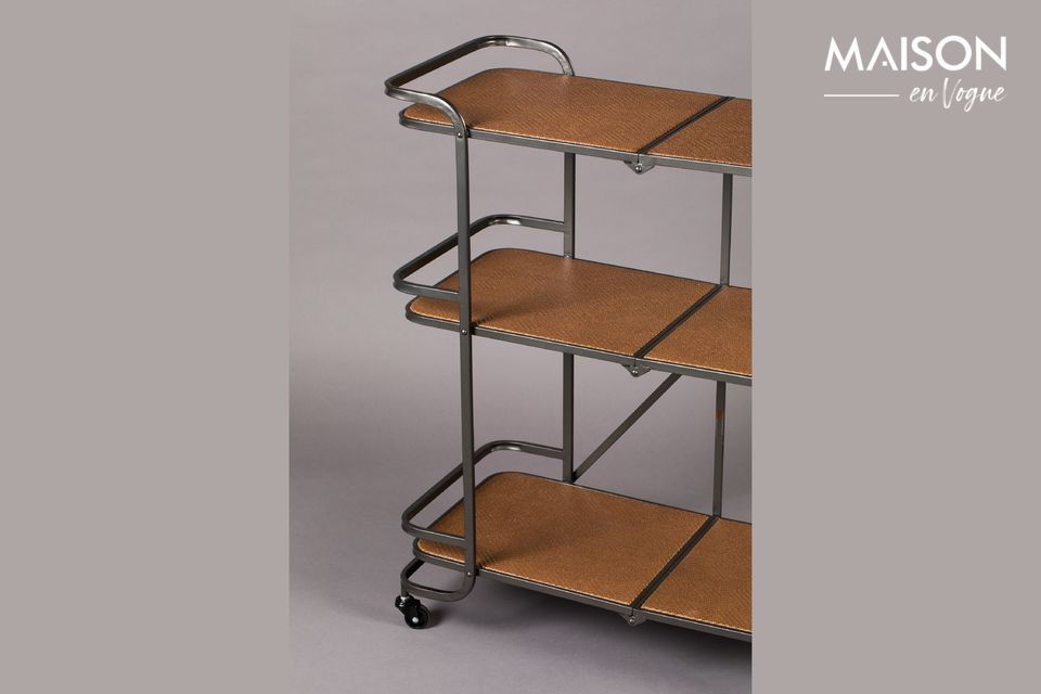 3-storey cabinet with castors