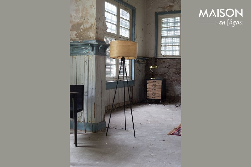 A piece of furniture in a contemporary version for a guaranteed vintage charm