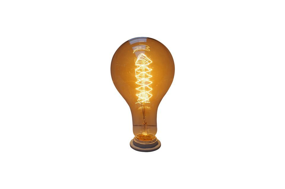 An imposing and unusual light bulb..