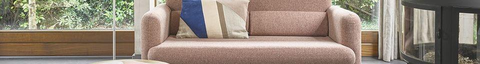 Material Details Studio Coral red Sofa