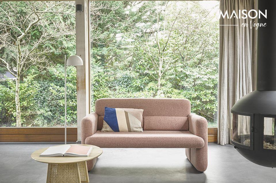 Studio Coral red Sofa
