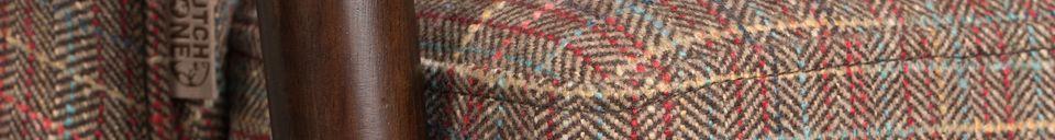 Material Details Tammy Texas Armchair