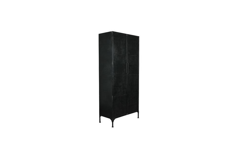 Texas black metal cabinet - 7