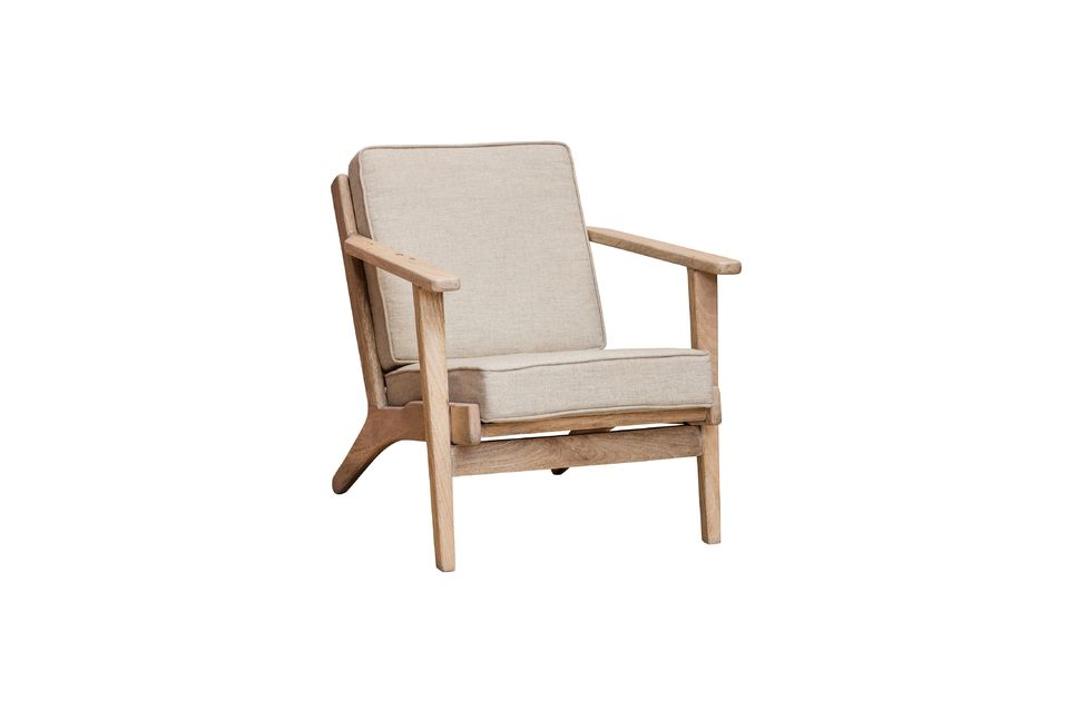 Its solid mango tree structure and legs promise great stability coupled with the comfort of the