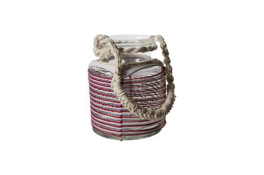 Thieux lantern with coloured cotton threads Clipped